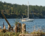 anchored off whidbey